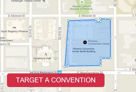 Geofencing? And other ways to target ads to trade show attendees without being there.