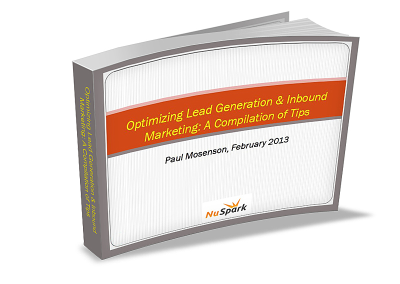 Optimizing Lead Generation & Inbound Marketing: A Compilation of Tips