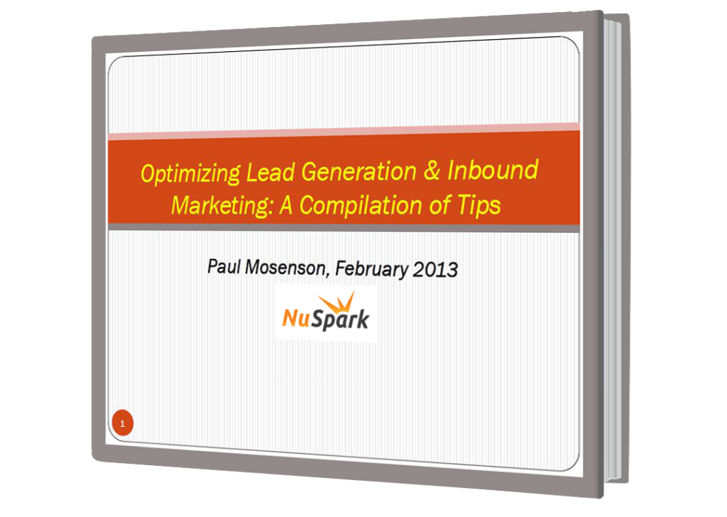 Optimizing Lead Generation & Inbound Marketing eBook