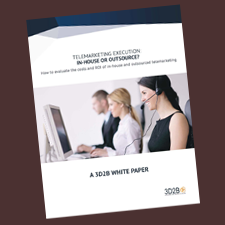 White Paper for 3D2B to act as lead generation tool and to help them overcome a sales barrier
