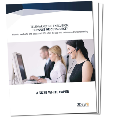 Cover for white paper Telemarketing Execution: In-House or Outsource