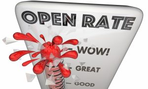 open rate email marketing