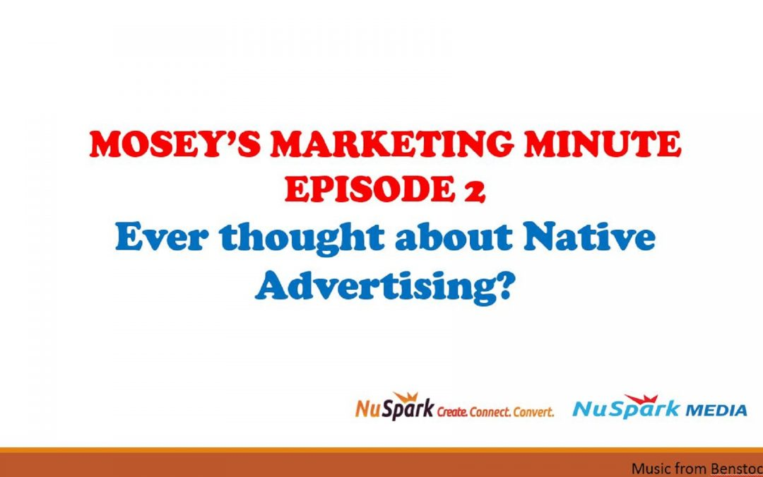 Native Advertising Considerations